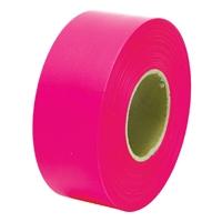 マーキングテープ 30mm×50m 蛍光ピンク 73798 測量 測量用品 測量現場 植林 樹木調査 目印 シンワ測定
