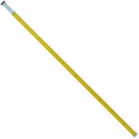 アルミスタッフ ミニ棒 2m 2段 76863 アルミ アルミ製 測量 計測 水準測量 高低測量 シンワ測定