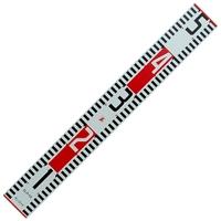 標尺 アルミ製 50cm巾60mm 76932 アルミ アルミ製 測量 計測 シンワ測定