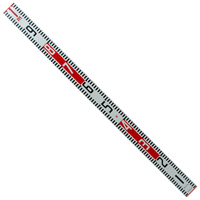 標尺 アルミ製 1m 巾60mm アルミ アルミ製 測量 計測 シンワ測定