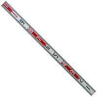 標尺 アルミ製 1.1m 巾60mm 76935 アルミ アルミ製 測量 計測 シンワ測定