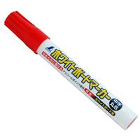 ホワイトボードマーカー 赤 中字 丸芯 78504 ホワイトボード 測量 測量用品 シンワ測定