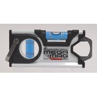 ハンディレベル MEGA-MAG 100mm 白 マグネット付 73130 シンワ測定