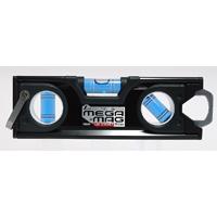 ハンディレベル MEGA-MAG 150mm 黒 マグネット付 73133