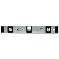 レベル アルミ H型 380mm 76028 水平器 工事 建築 配管 鉄骨 シンワ測定