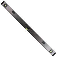 レベル 高級アルミ H型 900mm マグネット付 76306 水平器 工事 建築 配管 鉄骨 シンワ測定