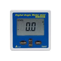 デジタルアングルメーター ミニ マグネット付 76447 レベル 水平器 傾斜 角度 シンワ測定