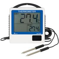 デジタル温度計 G-2 二点隔測式防水型 73046 シンワ測定 測定 2ヶ所 シンワ測定