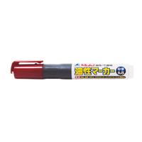 油性マーカー 赤 中字 丸芯 工事用 78429 工事用 マーカー 大工道具 基準出し シンワ測定