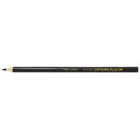 鉛筆型クレヨン 黒 工事用 3本入 78435