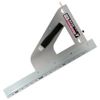 丸ノコガイド定規 エルアングル 45cm併用目盛 左きき用 77803 測定機器 測定工具 側量用品 定規 大工道具 シンワ測定
