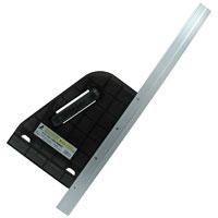 丸ノコガイド定規 エルアングルライト 60cm 77967 測定機器 測定工具 側量用品 定規 大工道具 シンワ測定