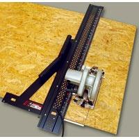 丸ノコガイド定規 エルアングルEX 1m 併用目盛 78032 測定機器 測定工具 側量用品 定規 大工道具