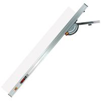 丸ノコガイド定規 フリーアングル ワンタッチ 1.2m 78451 測定機器 測定工具 側量用品 定規 大工道具 シンワ測定