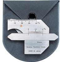 溶接ゲージ A 58691 建築用 工具 溶接 シンワ測定