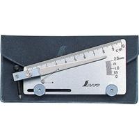 アンダーカットゲージ 58695 建築用 工具 溶接 測定 シンワ測定