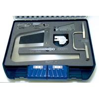鉄骨精度測定器具 7点セット 97794 建築用 工具 検査工具 シンワ測定