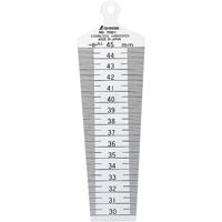 テーパーゲージ No.700C 30〜45mm 62610 ゲージ 工場用 工具 測定工具 測定機器 測定用品 シンワ測定