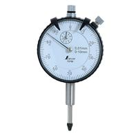 ダイヤルゲージ 0.01mm/10mm 標準型 73750 工具 工場用 測定器 測量工具 平面度測定 平行度測定 偏芯測定 シンワ測定