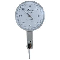 ダイヤルテストインジケーター 0.01mm/0.8mm 73751 工具 工場用 測定器 測量工具 平面度測定 平行度測定 偏芯測定 シンワ測定