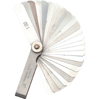 シックネスゲージ D 65mm 25枚組 73782 ゲージ 工場用 工具 測定工具 測定機器 測定用品 シンワ測定