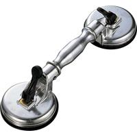 ハンド吸着盤 ダブル A 74483 吸着盤 工場用 工具 大工道具 作業道具 シンワ測定