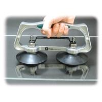 ハンド吸着盤 ダブル B ワンタッチ 74484 吸着盤 工場用 工具 大工道具 作業道具 シンワ測定