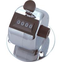 数取器 A 金属製 台付型 75078 工場用 工具 交通量 入場者数 野鳥の観察 カウント カウンター シンワ測定