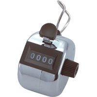 数取器 B 金属製 手持型 75086 工場用 工具 交通量 入場者数 野鳥の観察 カウント カウンター シンワ測定