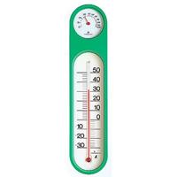 温湿度計 PCオーバル M-2 グリーン スリーブパック 72615 温度計 湿度計 健康管理 省エネ ベビー用品 シンワ測定
