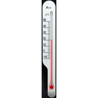 地温計 O-2 ホワイト 72622 気温 地温 園芸 家庭栽培 家庭菜園 育苗 鉢植え 温度管理 温度測定 シンワ測定