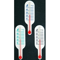 地温計 O-3 ミニB 黒・青・緑 72633 気温 地温 園芸 家庭栽培 家庭菜園 育苗 鉢植え 温度管理 温度測定 シンワ測定