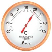 温度計 S-1 丸型 10cm 72689