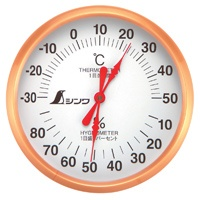 温湿度計 U-1 丸型 10cm 72691