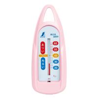 風呂用温度計 B 舟型 ピンク 72760 シンワ測定