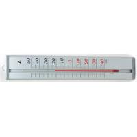 温度計 アルミ製 45cm 72991 健康管理 省エネ オフィス用 学校用 病院用