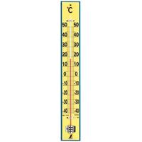 温度計 木製 60cm 75920 健康管理 省エネ オフィス用 学校用 病院用 シンワ測定