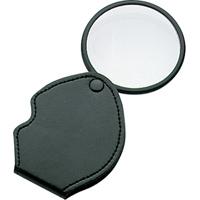 虫眼鏡 ルーペ N-3 ポケット型 二重焦点 65mm 2倍&4倍 75536 虫めがね 虫メガネ ルーペ 拡大 観察 シンワ測定