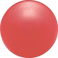 カラーマグネット Φ40 赤 10ヶ入 ビニ袋入 71820 マグネット 磁石 黒板 掲示 シンワ測定
