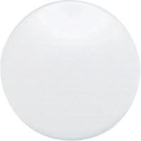 強力カラーマグネット ヨーク付 Φ40 白 6ヶ入 ビニ袋入 71833 マグネット 磁石 黒板 掲示 シンワ測定