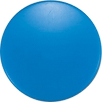 強力カラーマグネット ヨーク付 Φ40 青 6ヶ入 ビニ袋入 71834 マグネット 磁石 黒板 掲示 シンワ測定