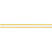 マグネットバー 25cm黄 72035 マグネット 磁石 黒板 掲示 シンワ測定