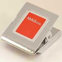 マグクリップ 角型 B (小) 72040 マグネット 磁石 黒板 掲示 シンワ測定