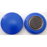 強力カラーマグネット ヨーク付 Φ50 青 2ヶ入 72081 マグネット 磁石 黒板 掲示 シンワ測定