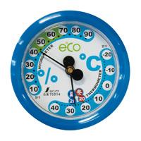 温湿度計 F-2S 環境管理 丸型 6.5cm アクアブルー 70514 シンワ測定 温度計 湿度計 健康管理 省エネ ベビー用品 シンワ測定