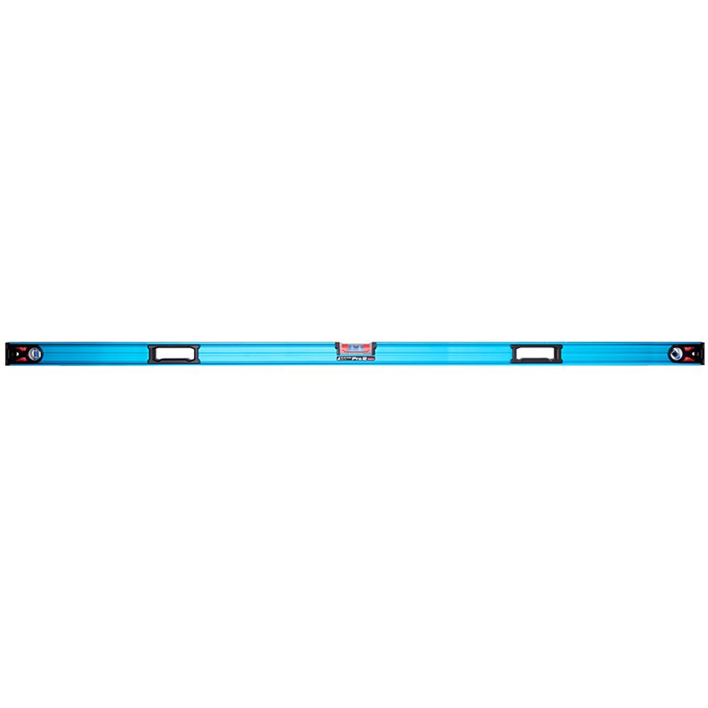 シンワ測定 水平器 おすすめ 気泡管 精度 角度 水準器 マグネット付 73387 ブルーレベル Pro 2 1800mm
