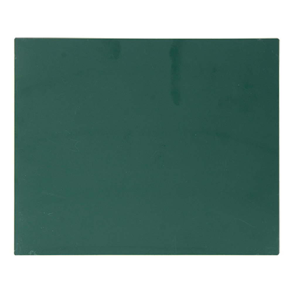 工事 黒板 掲示板 看板 スチールボード 無地 11×14cm グリーン シンワ測定