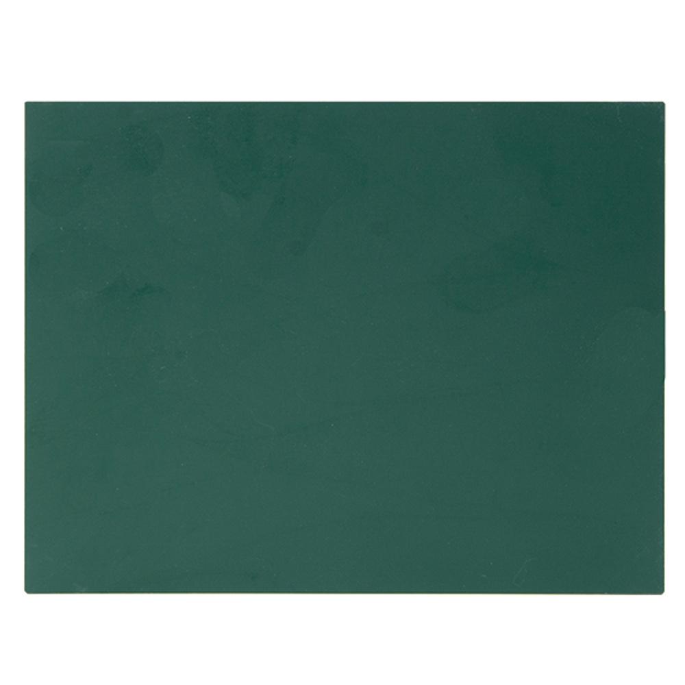 工事 黒板 掲示板 看板 スチールボード 無地 14×17cm グリーン シンワ測定