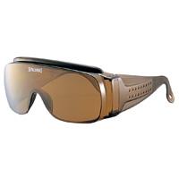 オーバーグラス SPO-103 ブラウン スポルディング オーバーサングラス 紫外線カット メンズ
