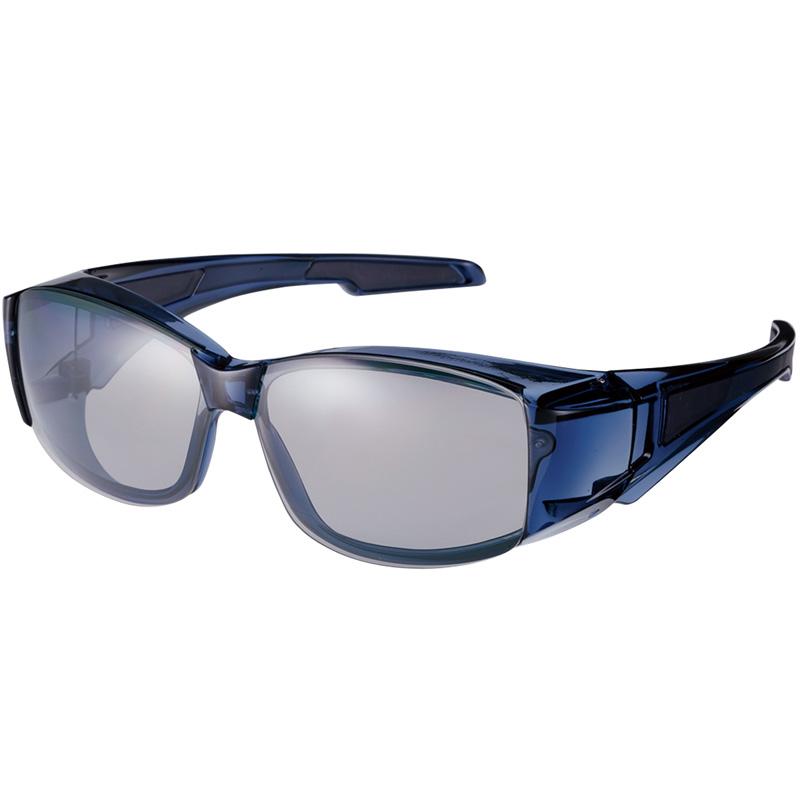 オーバーグラス フレームレス OG6-0051 偏光レンズモデル SWANS サングラス 偏光サングラス